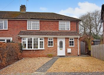 Thumbnail 3 bed semi-detached house for sale in Woodside, Newbury