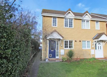 Thumbnail 2 bedroom semi-detached house for sale in Moat Way, Swavesey, Cambridge