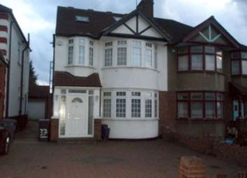 Thumbnail 6 bed semi-detached house to rent in Longfield Ave, Mill Hill