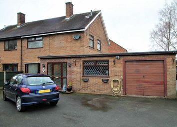 Thumbnail 4 bed semi-detached house for sale in Hinwood Road, Westbury, Shrewsbury