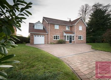 Thumbnail 4 bed detached house for sale in Rectory Lane, Chedgrave