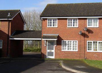 Thumbnail 2 bedroom semi-detached house to rent in Alder Way, Melksham
