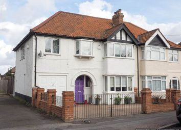 Thumbnail 4 bed end terrace house for sale in Ash Road, Sutton, Surrey