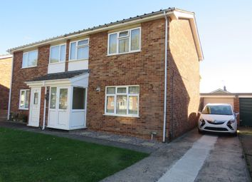 Thumbnail 3 bed semi-detached house for sale in Moulton Grove, Ravensthorpe, Peterborough