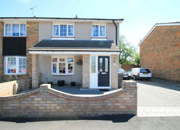 Thumbnail 2 bed semi-detached house to rent in Godman Road, Grays, Essex