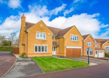 Thumbnail 4 bed detached house for sale in Wilkie Close, Kettering