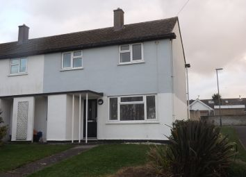 Thumbnail 2 bed end terrace house to rent in Calshot Close, St. Columb Minor, Newquay