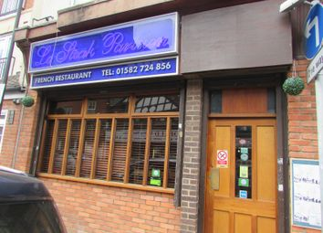 Thumbnail Restaurant/cafe to let in Wellington Street, Luton