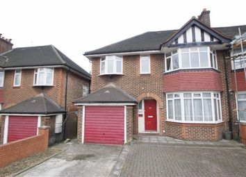 Thumbnail 5 bed semi-detached house to rent in Western Avenue, London