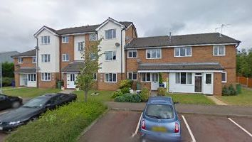 Thumbnail 1 bed flat to rent in Knights Court, Norton Canes