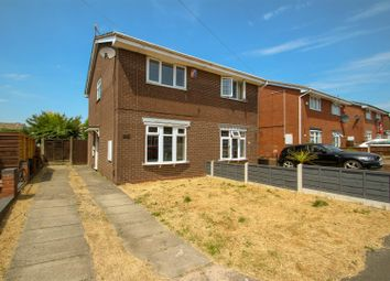 Thumbnail 2 bed semi-detached house for sale in Larkin Avenue, Meir Hay, Stoke-On-Trent