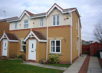 Thumbnail 2 bed end terrace house for sale in Moor Close, Wheldrake, York