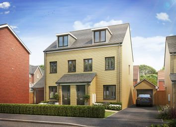 "Thumbnail 3 bedroom semi-detached house for sale in ""The Souter"" at Brickburn Close, Hampton Centre, Peterborough"