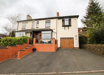 Thumbnail 4 bed semi-detached house for sale in Clewlows Bank, Stockton Brook, Stoke-On-Trent