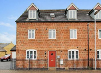 Thumbnail 5 bed semi-detached house for sale in Ashmead Road, Brickhill, Bedfordshire