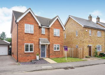 Thumbnail 4 bed detached house for sale in Gregory Close, Meppershall, Shefford
