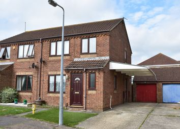 Thumbnail 3 bed semi-detached house for sale in Foxglove Drive, Bradwell, Great Yarmouth, Norfolk
