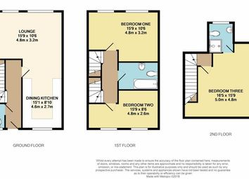 Thumbnail 3 bedroom semi-detached house for sale in Station Street, Wakefield