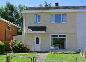 Thumbnail 3 bed semi-detached house for sale in Ton Road, Cwmbran
