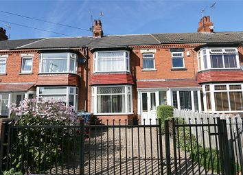 Thumbnail 3 bed terraced house for sale in Welwyn Park Road, Hull