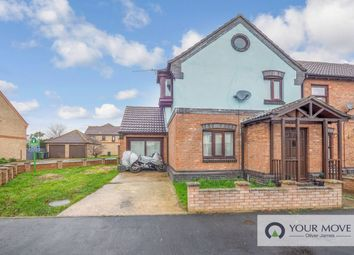 Thumbnail 3 bed semi-detached house for sale in Finisterre Rise, Caister-On-Sea, Great Yarmouth