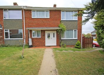 Thumbnail 3 bed end terrace house for sale in Conway Close, New Milton