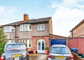 Thumbnail 4 bed semi-detached house for sale in Manor Road, Mitcham / Norbury