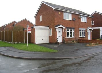 Thumbnail 2 bed semi-detached house for sale in Penderell Close, Featherstone, Wolverhampton