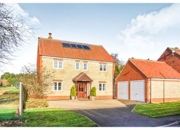 Thumbnail 5 bed detached house for sale in Back Street, Saltby, Melton Mowbray