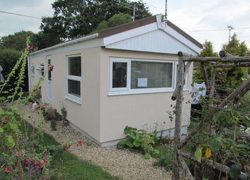 Thumbnail 1 bedroom mobile/park home for sale in Pitt Farm Park, Exeter Road, Spy Post