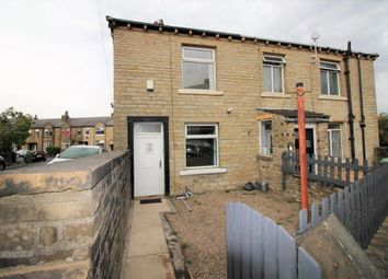 Thumbnail 1 bed terraced house to rent in Leymoor Road, Golcar, Huddersfield