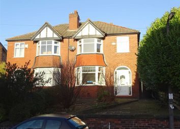Thumbnail 3 bed semi-detached house to rent in Clifton Road, Prestwich, Prestwich Manchester
