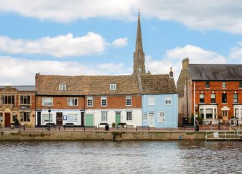 Thumbnail 4 bed town house for sale in The Quay, St. Ives, Huntingdon