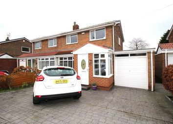 Thumbnail 3 bed semi-detached house for sale in Ettrick Road, Jarrow