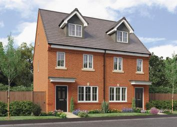 "Thumbnail 3 bed town house for sale in ""Tolkien"" At Honeywell Lane, Barnsley S75, Barnsley,"