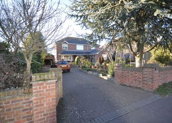 Thumbnail 3 bed detached house for sale in Seaview Avenue, West Mersea, Colchester