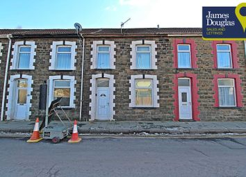 Thumbnail 3 bed terraced house for sale in Eirw Road, Porth, Rhondda Cynon Taff