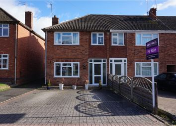 Thumbnail 3 bed semi-detached house for sale in Barn Close, Leamington Spa