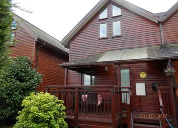 Thumbnail 3 bed lodge to rent in Mill Road, Buckden, St. Neots