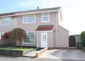 Thumbnail 3 bed semi-detached house for sale in Manifold Gardens, Efford, Plymouth