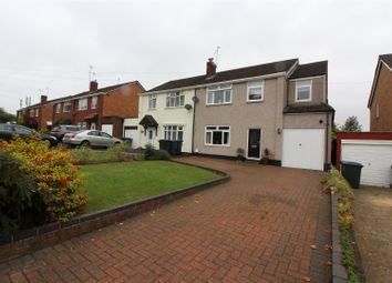 Thumbnail 4 bed semi-detached house for sale in Kenpas Highway, Styvechale, Coventry