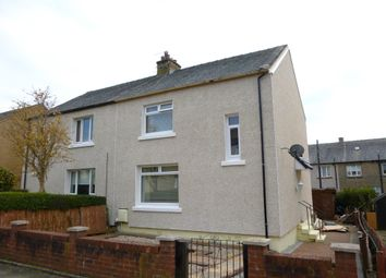 Thumbnail 3 bed semi-detached house for sale in Libry Street, Kelloholm, Kirkconnel