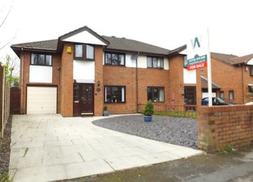Thumbnail 4 bed semi-detached house for sale in Balcarres Road, Leyland