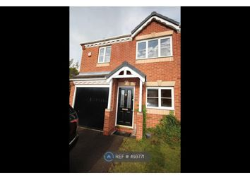 Thumbnail 3 bed semi-detached house to rent in Gibson Close, Stafford