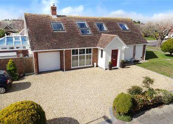 Thumbnail 4 bed detached house for sale in Hawke Close, Rustington, Littlehampton