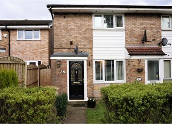 Thumbnail 2 bed semi-detached house for sale in Evesham Walk, Manchester