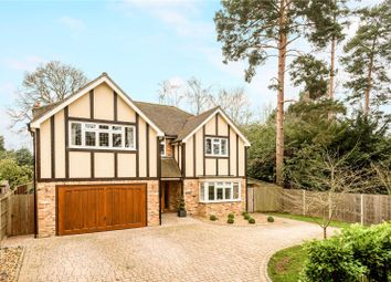 Thumbnail 5 bed detached house for sale in Reading Road South, Fleet