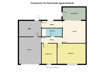 Thumbnail 2 bed bungalow for sale in Hallwood Road, Handforth, Wilmslow