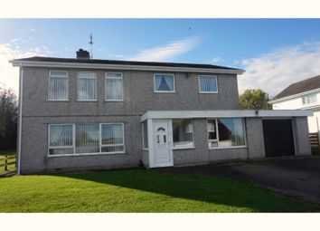 Thumbnail 5 bed detached house for sale in Ffordd Nant, Llangefni