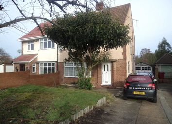 Thumbnail 3 bed semi-detached house to rent in Langley Road, Langley, Berkshire